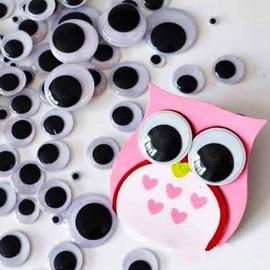 Глазки для игрушек подвижные