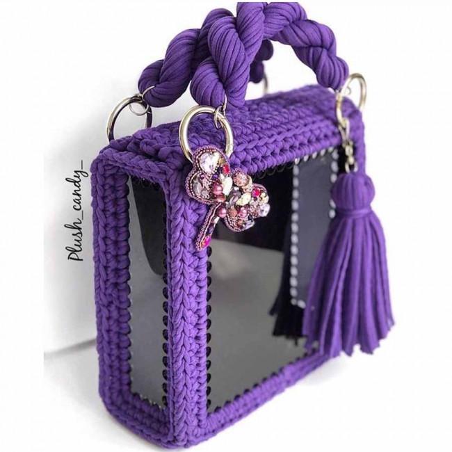 Заготовки квадратные для сумок, шкатулок и корзин из акрила