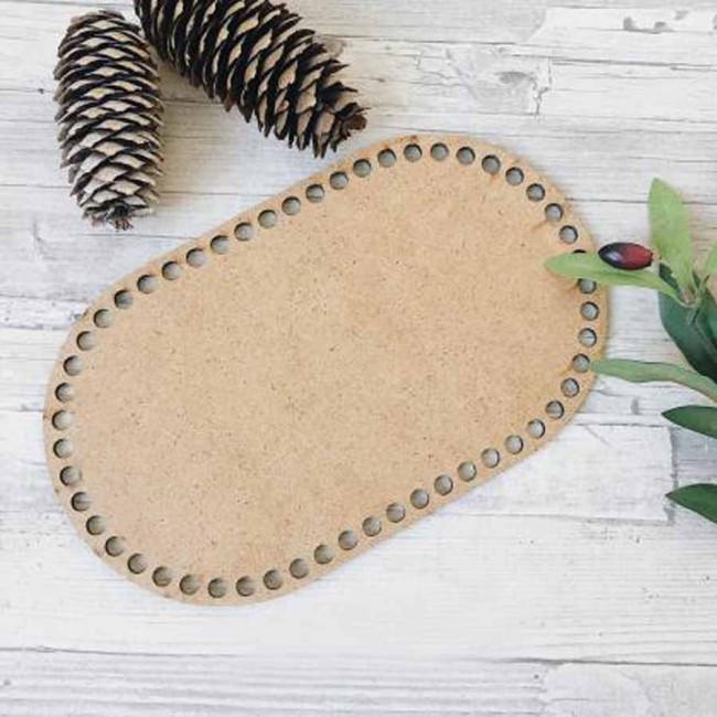 Заготовки овальные натуральные для сумок, шкатулок и корзин из дерева