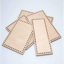Заготовки прямоугольные для сумок, шкатулок и корзин из дерева