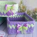 Заготовки прямоугольные ажурные для сумок, шкатулок и корзин из дерева