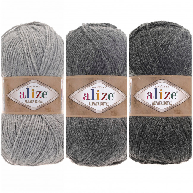 Пряжа Alpaca Royal ALIZE