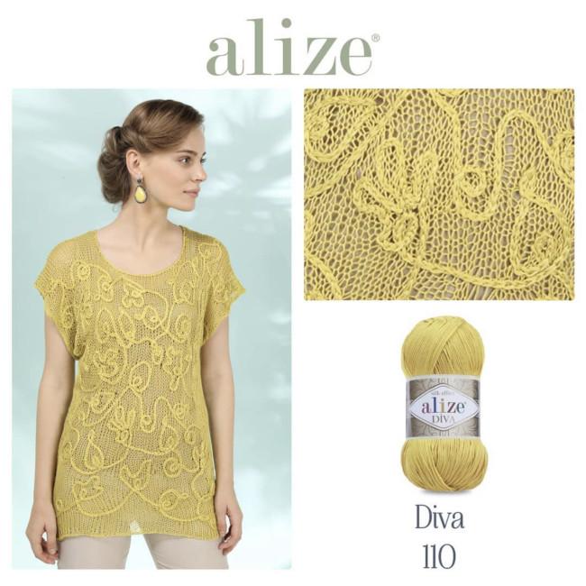 Пряжа Diva ALIZE