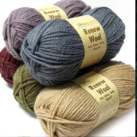 Пряжа Renew Wool FIBRANATURA