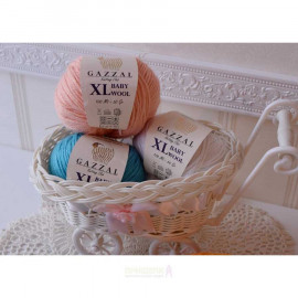 Пряжа Baby Wool XL GAZZAL