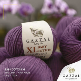 Пряжа Baby Cotton XL GAZZAL