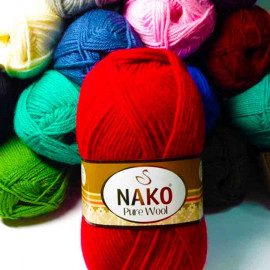 Пряжа Pure Wool NAKO